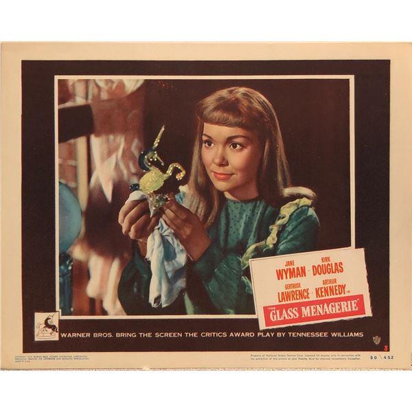 The Glass Menagerie original 1950 vintage lobby card