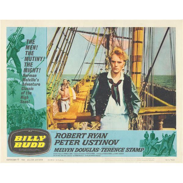 Billy Budd 1962 original vintage lobby card