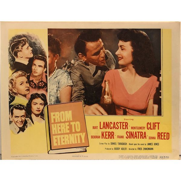 From Here To Eternity 1953 Original Vintage Lobby Card