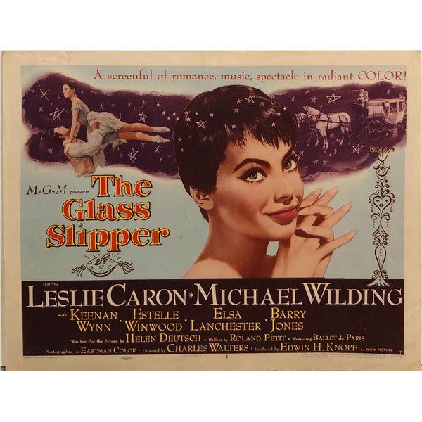 The Glass Slipper original 1955 vintage lobby card