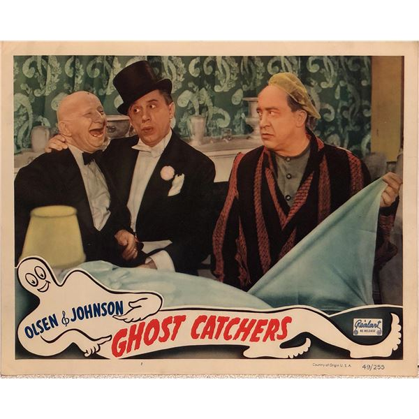 Ghost Catchers original 1949R vintage lobby card