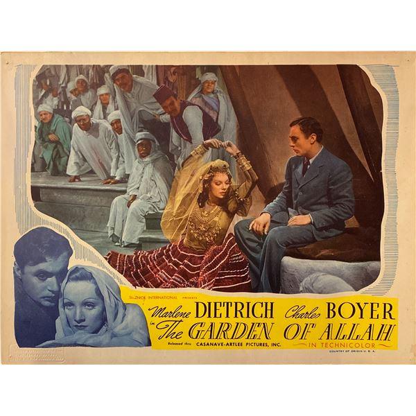 The Garden of Allah 1945R Original Vintage Lobby Card