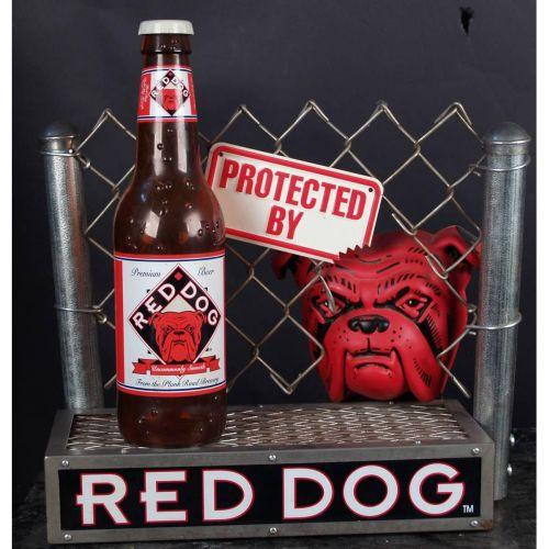 Red Dog Beer Sign Brewed By Miller Very Solid Piece