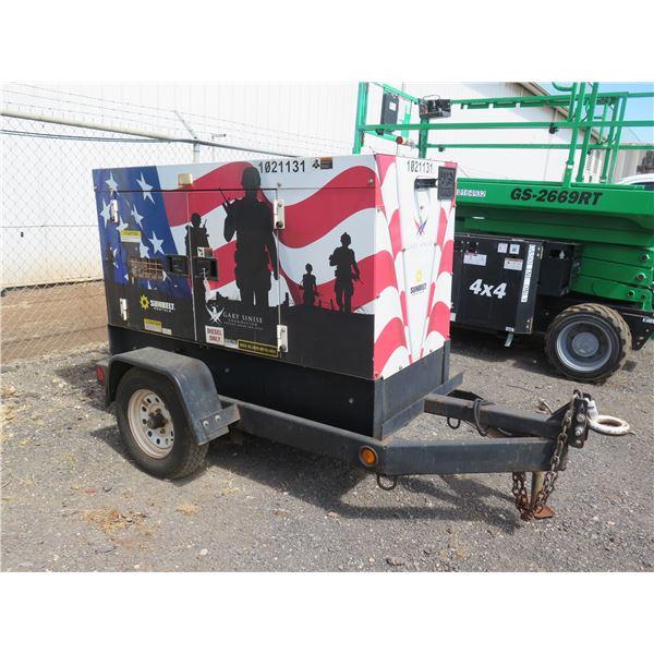 MQ DCA-25SSIU4F Diesel Generator, 20KW, Starts & Runs