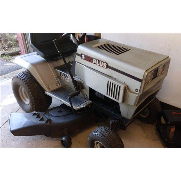 "Super Clean Turf Power Plus 18HP 5 Speed Tractor, w/ 46"" Cut"