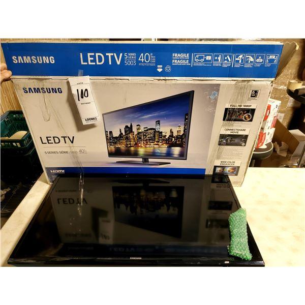 "NEW SAMSUNG 40"" HD LED TV, SERIES 5, STILL IN BOX"
