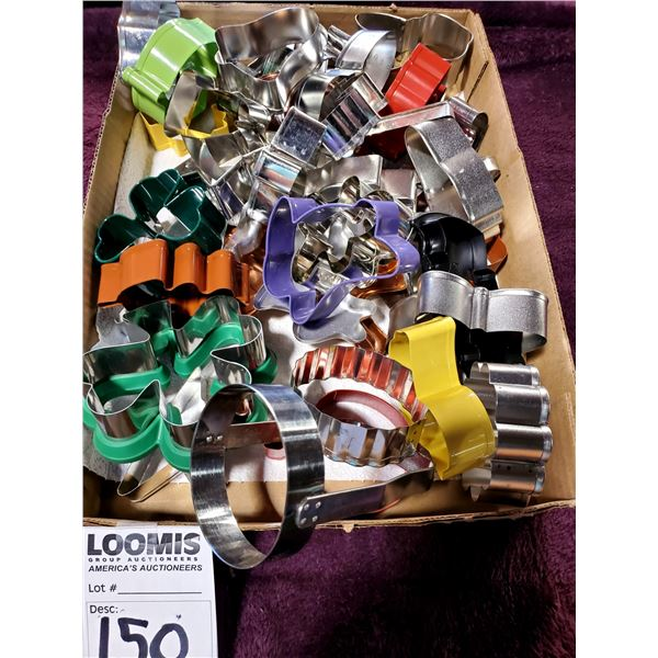MISCELLANEOUS LOT OF NEW COOKIE CUTTERS