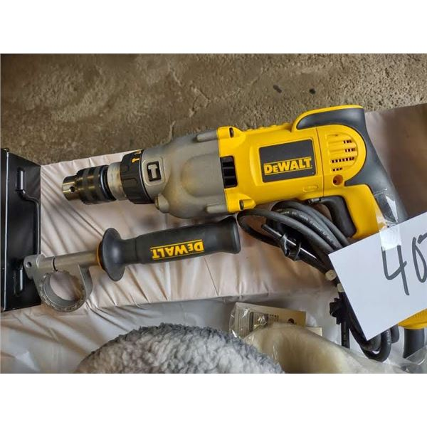 NEW DEWALT ELECTRIC HAMMER DRILL AND HAND TOOL