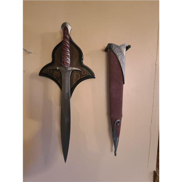 Sting Sword- either Frodo or Bilbo Baggins