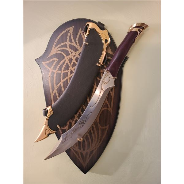 Elven sword with sheath