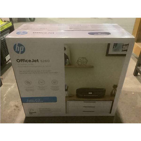 HP OFFICEJET 5260 PRINTER