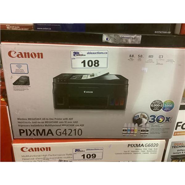 CANON PIXMA G4210 PRINTER