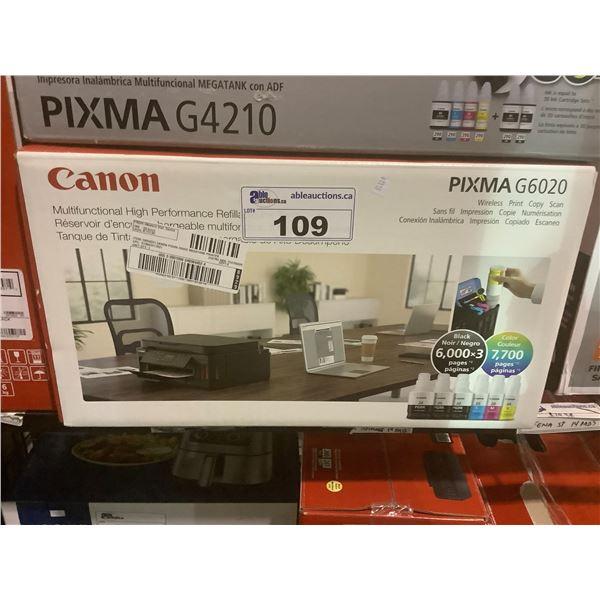 CANON PIXMA G6020 PRINTER