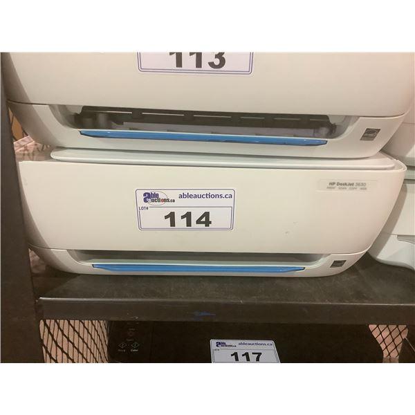 HP DESKJET 3630 PRINTER (NO POWER CORD)