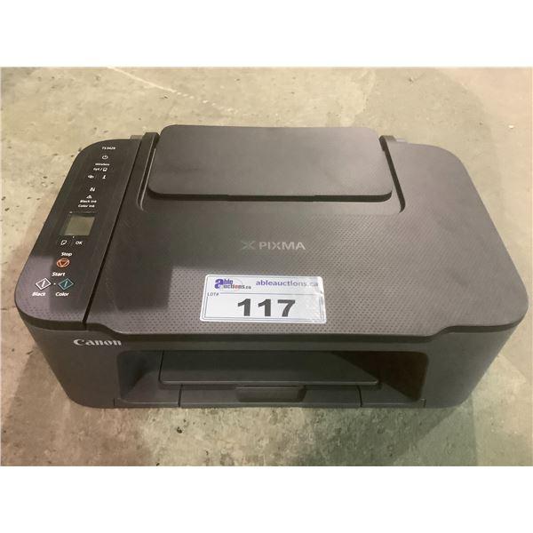 CANON PIXMA TS3429 PRINTER (NO POWER CORD)