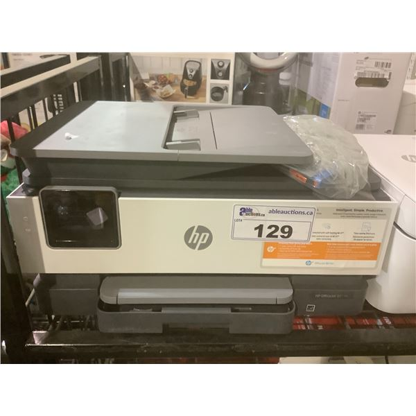 HP OFFICEJET 8015E PRINTER (NO POWER CORD)
