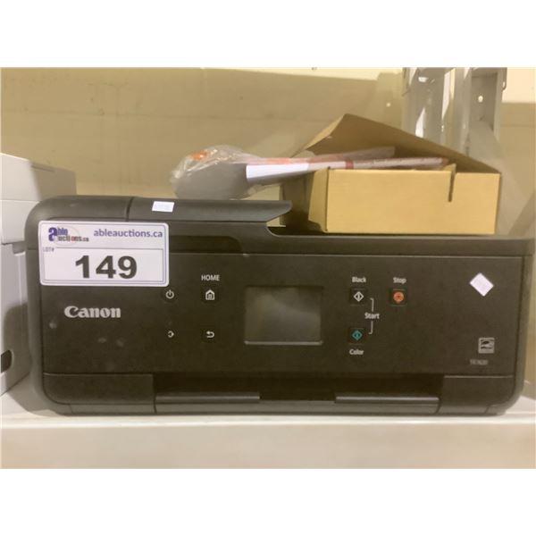 CANON PIXMA TR7620 PRINTER (WITH POWER CORD)