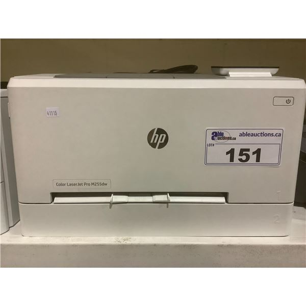 HP COLOR LASERJET PRO M255DW PRINTER (WITH POWER CORD)