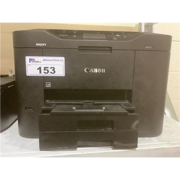 CANON MAXIFY MB2720 PRINTER (NO POWER CORD)