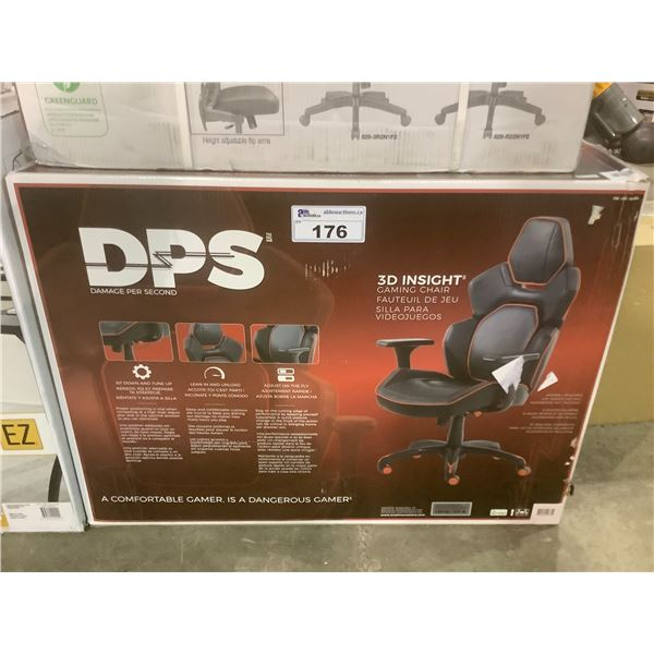 RED & BLACK DPS 3D INSIGHT GAMING CHAIR