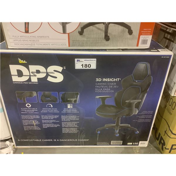BLUE & BLACK DPS 3D INSIGHT GAMING CHAIR
