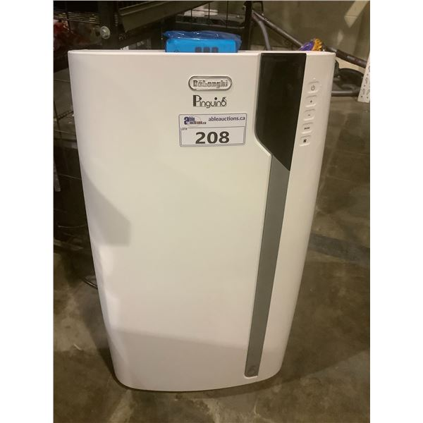 DELONGHI PORTABLE AIR CONDITIONER MODEL PAC EX270LN-3A WITH ACCESSORIES & REMOTE (TESTED WORKING)