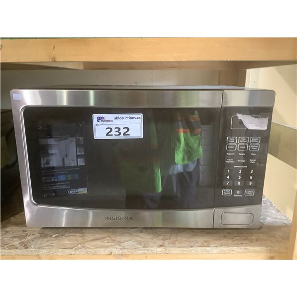 INSIGNIA MICROWAVE OVEN MODEL NS-MW12SS6-C (TESTED WORKING)