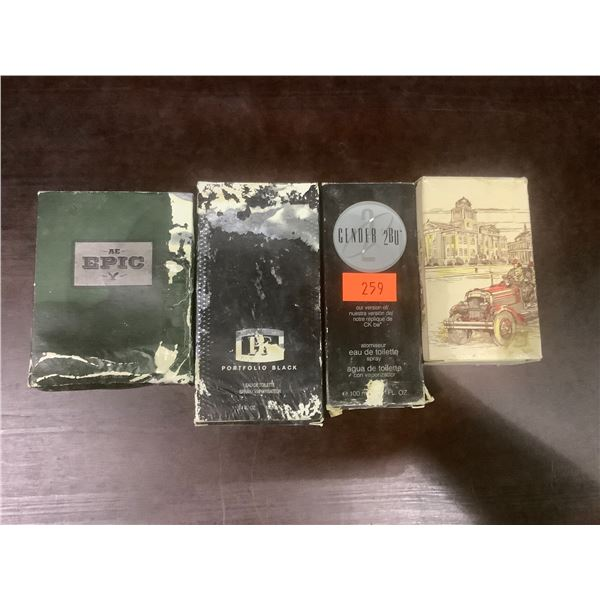ASSORTED NEW COLOGNES
