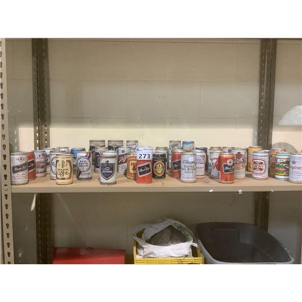 APPROXM46 VINTAGE CANS