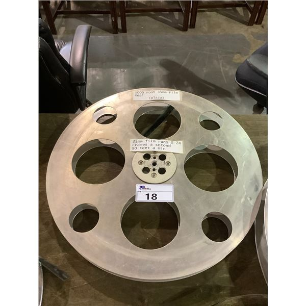 5000 FOOT 35MM FILM REEL (PLAZA)