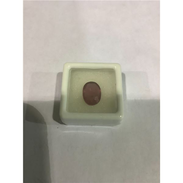 4.86 CT NATURAL RUBY (12.32 X 9.14 X 3.92 MM) OVAL PACK, VS CLARITY, MADAGASCAR, POSS. GF