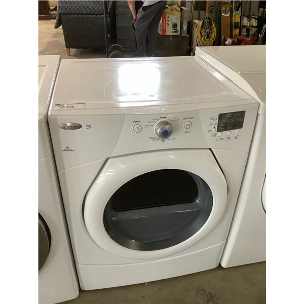 WHIRLPOOL FRONT LOAD DRYER MODEL #YWED9151YW1