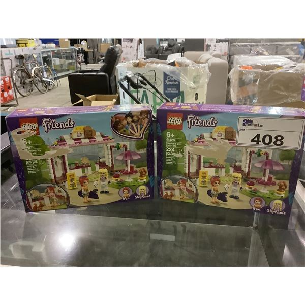 PAIR OF LEGO FRIENDS SETS