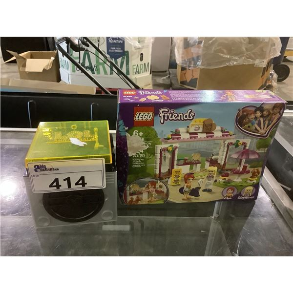 LEGO FRIENDS KIT AND LOL SURPRISE TOY