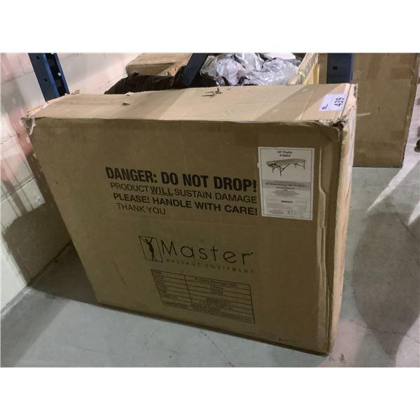 "MASTER MASSAGE EQUIPMENT PORTABLE MASSAGE TABLE MODEL 30"" PROAIR #10004"