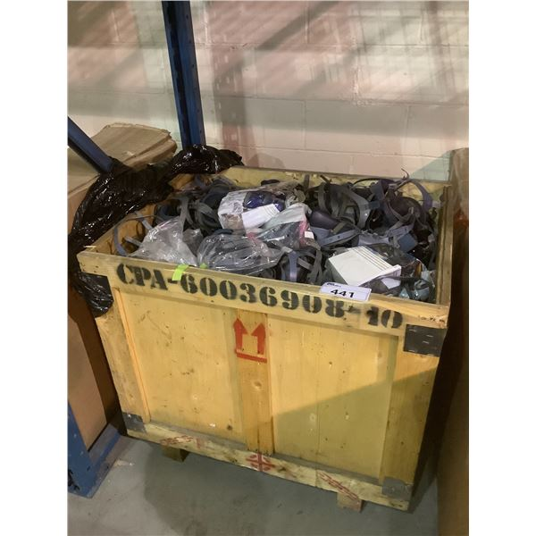 LARGE CRATE OF 3M SILICON FACEMASKS