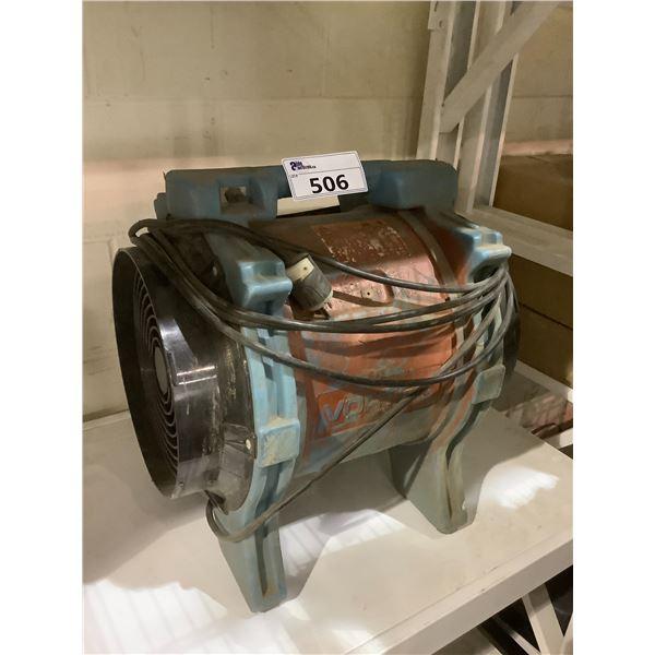 DRI EAZ MODEL F174-VLU COMMERCIAL VORTEX BLOWER