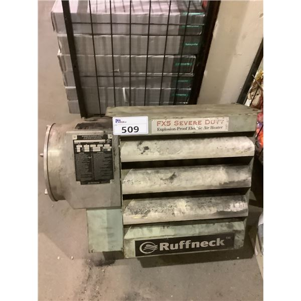RUFFNECK FX5 EXPLOSION PROOF HEATER