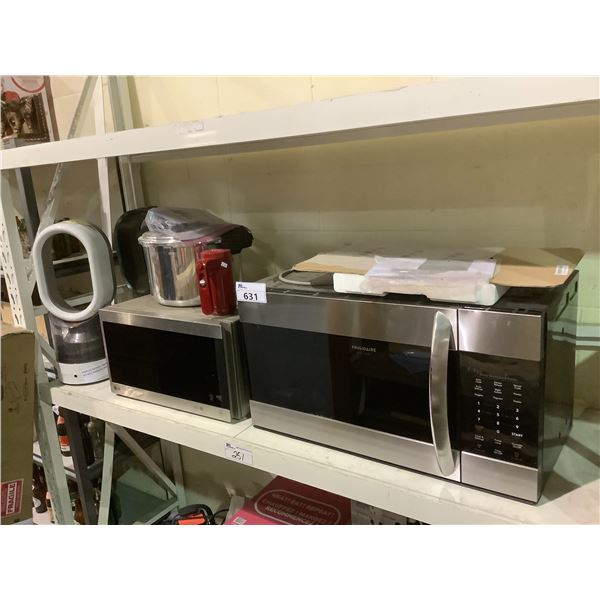 PARTS AND REPAIR LOT INCLUDING; 2 DYSON PRODUCTS, 2 MICROWAVES AND MORE