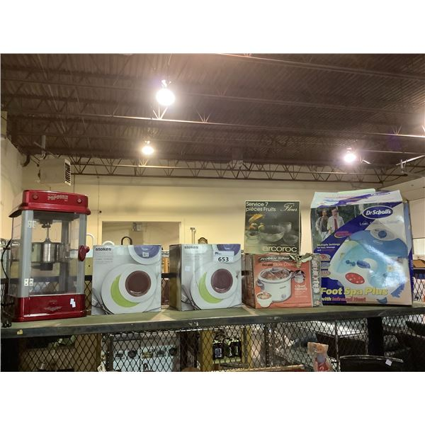 ASSORTED DINNERWARE SETS AND SMALL APPLIANCES