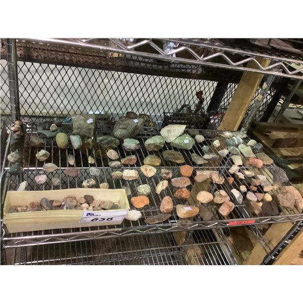 ASSORTED COLLECTABLE ROCKS