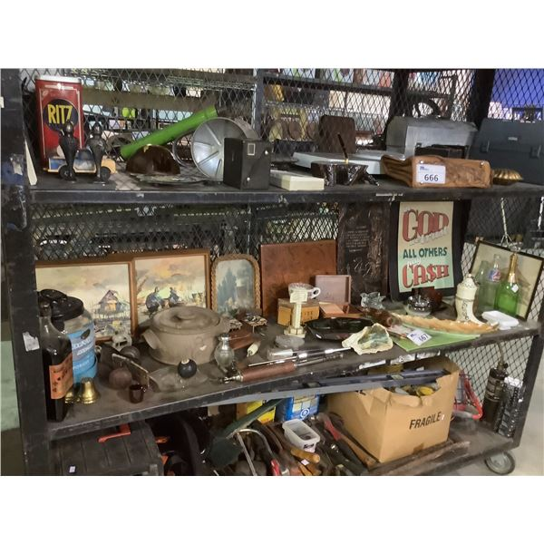 ASSORTED ART, VINTAGE COLLECTABLES AND MORE