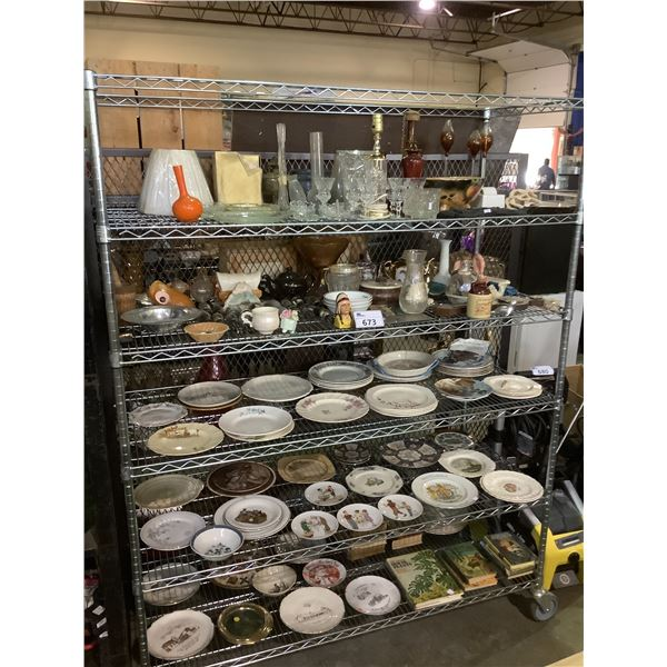 LARGE COLLECTION OF DISHWARE AND COLLECTABLES