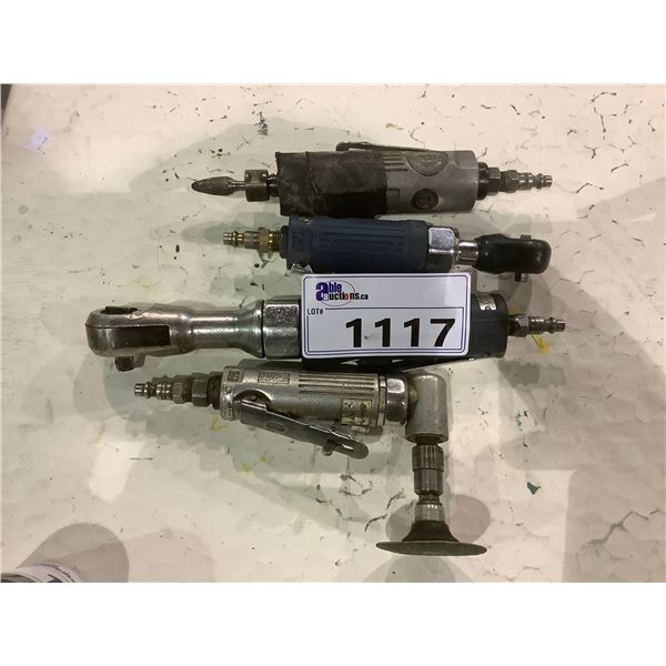 4 PNEUMATIC TOOLS BRANDS INCLUDE; SUNEX, BLUE-POINT AND MORE