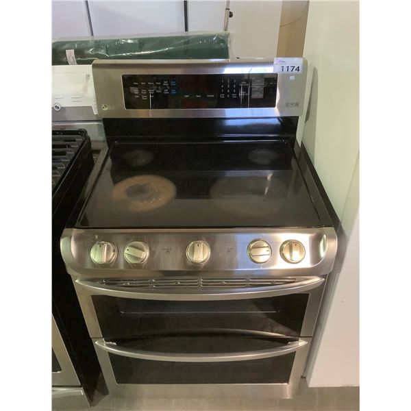 LG ELECTRIC RANGE STOVE WITH DOUBLE OVEN (1 CONVECTION)