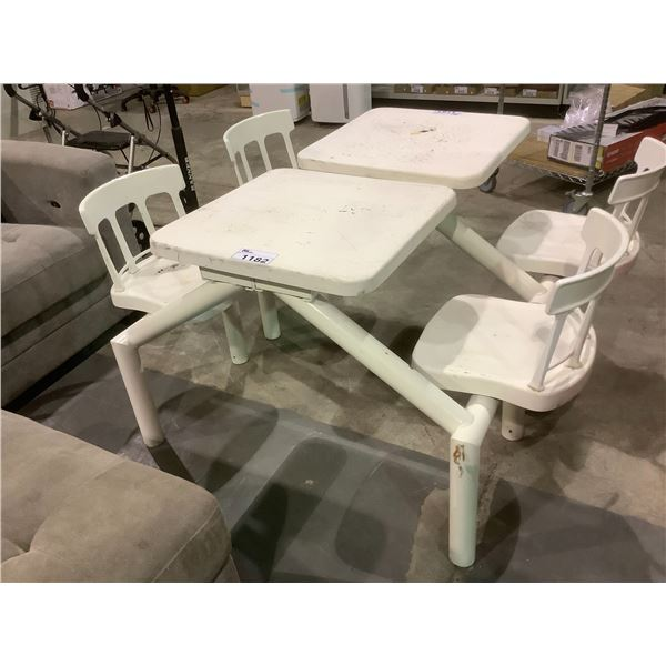 OUTDOOR PICNIC BENCH 2 SEATER