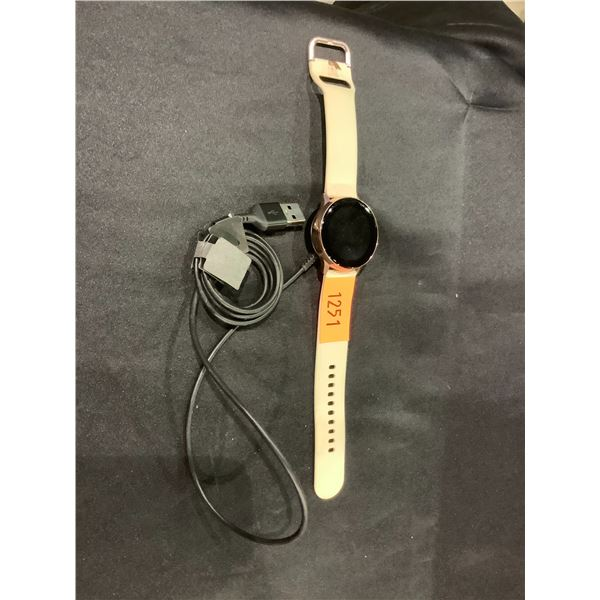 SAMSUNG GALAXY WATCH WITH CHARGER
