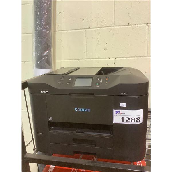 CANON MAXIMA MB2720 PRINTER  OUT OF BOX (NO POWER CORD)