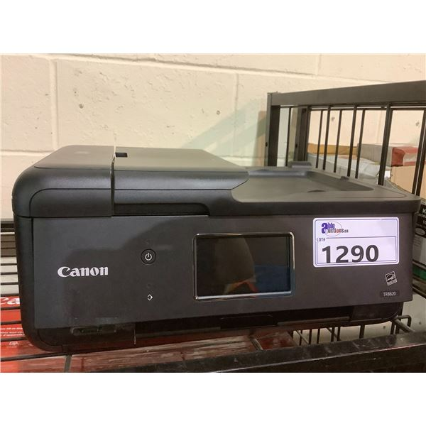 CANON PIXMA TR8620 PRINTER OUT OF BOX (NO POWER CORD)
