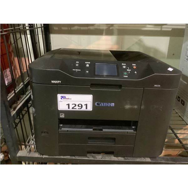 CANON MAXIFY MB2720 PRINTER OUT OF BOX (NO POWER CORD)